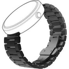 Motorola Mobility 89773N Moto360 Metal Smart Watch Band 23mm Black (Band Only)