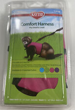 Kaytee Brown Comfort Harness Plus Stretchy Leash Size Large Pink Ferrets Rabbits