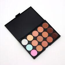 15 Colors Women Beauty Makeup Contour Concealer Face Eye Foundation Cream Cover