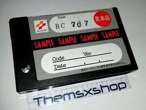 MSX 2 METAL GEAR 2 SOLID SNAKE SAMPLE FROM MY PERSONAL COLLECTION