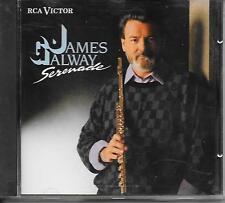JAMES GALWAY - Serenade CD Album 16TR Europe 1989 Classical (BMG)