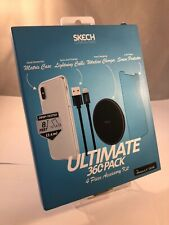 Skech 4 Accessories Case, Wireless Charger, Cable And More For iPhone XS Max