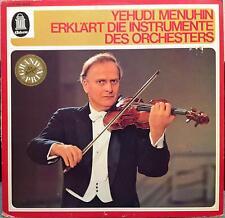 Yehudi Menuhin - Erklart Die Instrumente De Orchesters LP VG+ 1C 053 04 079