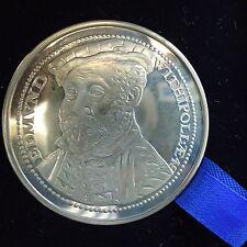 Médaille Argentée Excusive Edition IPSWITCH - Tower Mint LONDON Di: 4,5 Cm Boîte