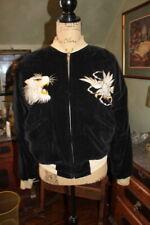 Vintage 40 Or 50's Japan Souvenir Reversible Tour Jacket  Size M  YKK ZIPPER