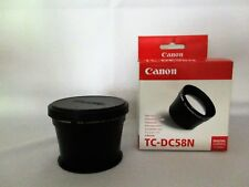 Canon TC-DC58N 1.75X Tele-Converter for PowerShot A610/620/630/640/700 NEW