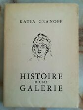 KATIA GRANOFF envoi à Willy MUCHA 1952 - Histoire d'une Galerie