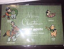 Disney 4 Pin Set Le Christmas Advent Calendar Series Orphan Tanglefoot Cartoon