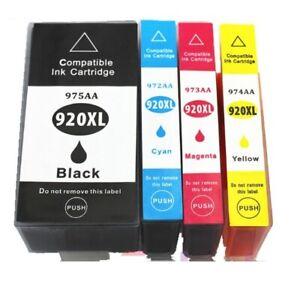 Cartouches d'encre compatibles HP 920 XL pour Imprimantes OfficeJet 24/72H