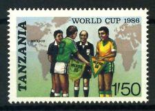Tanzania 1986 Mi. 342 Nuovo ** 100% Calcio Coppa del Mondo-Messico