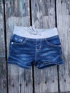 Justice ~ Girls Denim Jean Shorts ~ Size 5 R