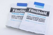 Lot Of 2 Sima Film Shield Laminated X Ray Protection Pouch