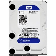 "Western Digital WD20EZRZ Blue 2TB  3.5"" 5400 RPM Desktop Hard Disk"