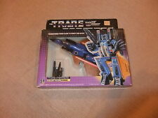 Transformers G1 Action Figure Decepticon Dirge Plane To Robot 1985 Hasbro MISB