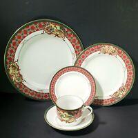 Noritake ROYAL HUNT 5 Piece Place Setting pattern 3930 Fine China Japan Perfect!