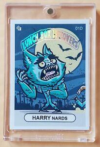 2018 SSFC HARRY NARDS Super Chase Card Sticker (Hot Foil Header) (#1D) VERY RARE