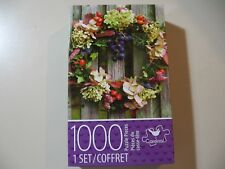 1000 piece Puzzle, Beautiful Wreath (Brand New and Sealed