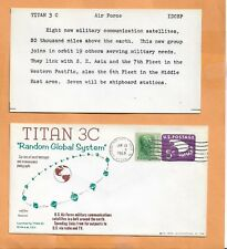 TITAN 3C RANDOM GLOBAL SYSTEM JUN 13,1968 PATRICK AFB  SWANSON SPACECRAFT  ***