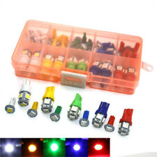 40X Green Red White Blue Yellow T5 T10 Dashboard Panel Meter Light Bulb Car Lamp