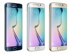 Samsung Galaxy S6 Edge SM-G925A - Black Gold or White 32GB AT&T Smartphone Used