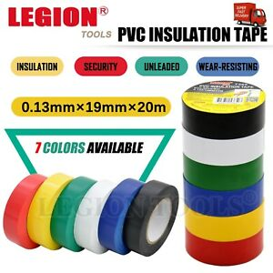 Home Electrical PVC Insulation Tape Waterproof Repair Fusing Seal Tape 19mm 20M