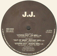 J.J. - Steppin Out / Out Of Mind - 1994 Soul Xpression Italy - SEX 9434