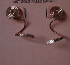 Jody Coyote Earrings JC0782 New 14kt gold gf Made USA NWT filled