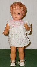 Alte SCHILDKRÖTPUPPE Schildkröt Puppe GABRIELE 40cm PUPPEN DACHBODENFUND DOLL