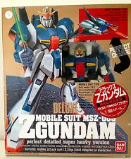 Z GUNDAM. DELUXE MOBILE SUIT MSZ-006. 1/100 SCALE. BANDAI. BEAUTIFUL SHAPE.
