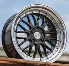 """18"""" ESR SR05 18x8.5 5X100 +30 Wheels For VW Golf Jetta MK4 Aggressive Rims Set"""