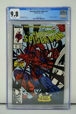MARVEL COMICS CGC 9.8 THE AMAZING SPIDER MAN 317 7/89 WHITE PAGES