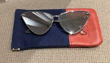 Le Specs Silver Cat Eye Sunglasses