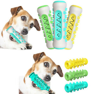 Dog Toothbrush Toy Pet Interactive Chew Tooth Cleaning Brushing Dental Care SS