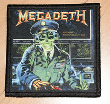 "MEGADETH ""HOLY WARS...THE PUNISHMENT DUE"" silk screen PATCH"