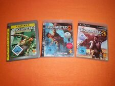 ★★★ Uncharted 1-3 | Playstation 3 / Ps3 ★★★