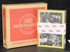 2021 Topps 582 Montgomery Club Set #4 ~ 20-cards: Tatis Acuna Ohtani Kelenic RC