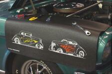 Corvette C4 Drake Black Grip Fender Cover