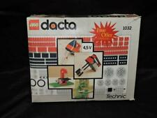 Vintage LEGO Dacta Technic 1032 1990 Building Toy Set With Instructions & Box