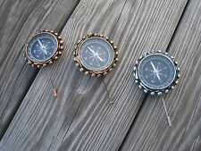 Steampunk Wedding Boutonnieres-Compass Man Boutonnieres- Geek Wedding-Men's Suit