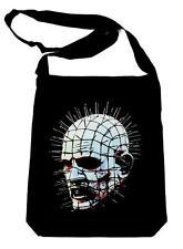 Pinhead Hellraiser on Black Sling Bag Horror Book Bag Doug Bradley Clive Barker
