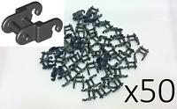 x50 Genuine Lego Technic Link Chain BLACK Track Tread Engine Gear 3711 14696