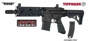 Tippmann TMC M4 Magfed Paintball Gun .68 Caliber Marker - Black Mag Fed
