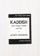 KADDISH & OTHER POEMS 1958-60-ALLEN GINSBERG-CITY LIGHTS 1972 CLASSIC COLLECTION