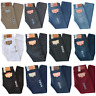 MENS LEVIS 501 PREWASHED ORIGINAL FIT STRAIGHT LEG BUTTON FLY JEANS MANY COLORS