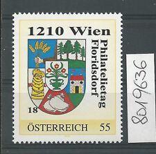 Österreich PM personalisierte Marke Philatelietag 1210 WIEN 8019636 **