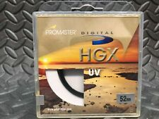Promaster Digital HGX Ultraviolet (UV) Filter - 52mmwith Same Day Shipping