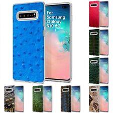 Thin Gel Design Phone Case Cover for Samsung Galaxy S10 5G,Ostrich Stylish Print