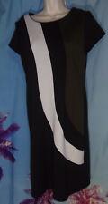 Blu Sage😍 Color Block Career Short sleeve dress Women's size S