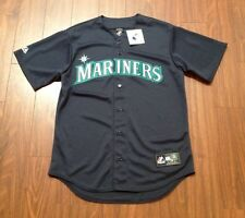 Seattle Mariners Alternate Road Jersey By Majestic Men's Large New With Tags