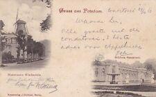 Normalformat Ansichtskarten aus Brandenburg mit dem Thema Burg & Schloss